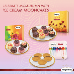 Häagen-Dazs: Ice Cream Mooncakes