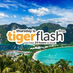 Tigerair: Thursday Flash Time, Fly to Phuket @ S$38 All-in One-way