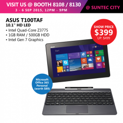 Challenger: ASUS T100TAF the ultimate bang @ $399