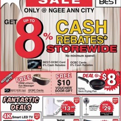 Go.BestDenki: Get Up to 8% Cash rebates Storewide
