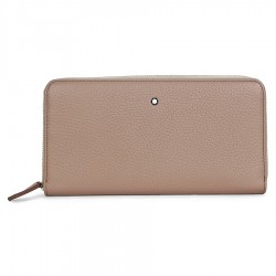 JomaDeals: Montblanc Meisterstuck Beige Soft Grain Leather 8CC Long Wallet & Coin Case 111218