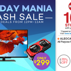 Lazada Monday Mania --- Kindle Paperwhite and more from 12pm