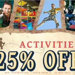 Deal.com.sg: Extra 25% OFF Coupon Code for All Activities