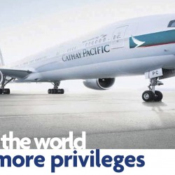 Cathay Pacific: Exclusive All-in Airfares for UOB to over 47 Cities