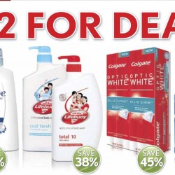 Cold Storage: 2 For Deals and Save up to 35% off Selected Beauty Products