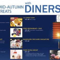 Diners Club: Up to 50% off Mid-Autumn Treats