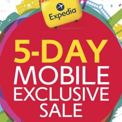 Expedia: 5-Day Mobile Exclusive Sale up to 50% OFF