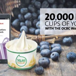OCBC: 20,000 FREE Cups of YAMI Yogurt with OCBC WowDeals App