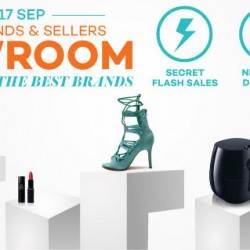 Lazada: Brands and Sellers Showroom Sale Up to 50% OFF Best Brands