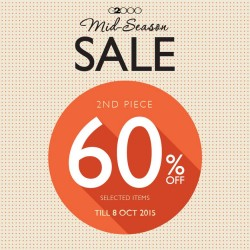 G2000 Mid-Season Sale: 60% Off 2nd Piece!