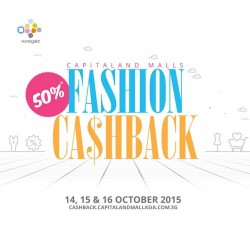 Westgate: 50% Fashion Cashback