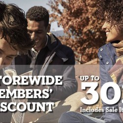 Timberland: Up to 30% Off Storewide Members' Discount