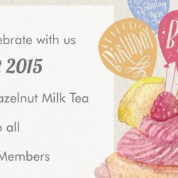 KOI: 1-for-1 Hazelnut Milk Tea for KOI Card Members