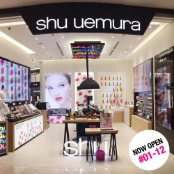 shu uemura: Newly Launched Products & Experience the Brand's Make-up Expertise