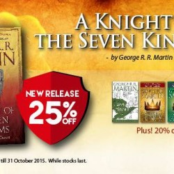 Popular Book Company Pte Ltd: The Knight of the Seven Kingdoms--25% Release.