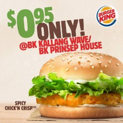 Burger King: Spicy Chick'n Crisp
