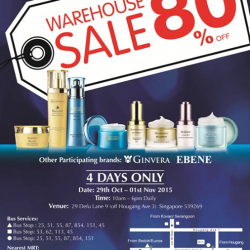 Bio-essence: Warehouse Sale @80% OFF--The bigger and better