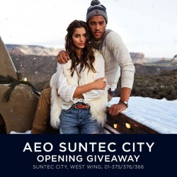 American Eagle Outfitters: AEO Suntic City Opening Giveaway