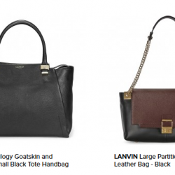 JomaShop: Extra 5% OFF Via Coupon Code on Lanvin - Handbags & Accessories.