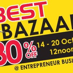 Go.BestDenki: Up to 80% OFF Best Bazaar Sale