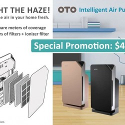 OTO: Intelligent Air Purifier