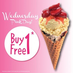 Baskin-Robbins: Buy 1 Free 1 Promotion