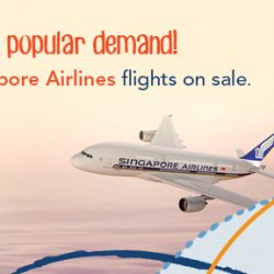 ZUJI: Back by Popular Demand - All Singapore Airlines Flights on Sale!
