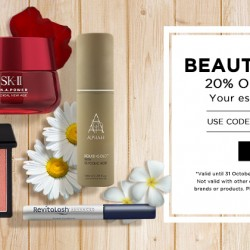 Luxola: Take 20% OFF on Beauty GetaWay Via Coupon Code.