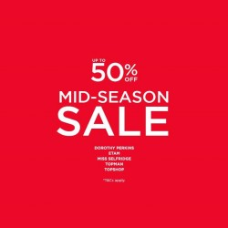 F3: Up to 50% OFF Mid-Season Sale