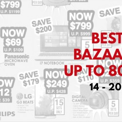 Best Denki: Bazaar Sale up to 80% OFF