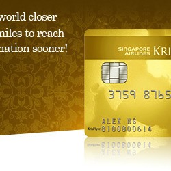 Credit Card Recommendation: American Express® Singapore Airlines KrisFlyer Gold Credit Card