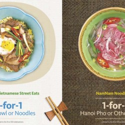 Maybank: 1-for-1 Vietnamese Cuisine with Visa payWave