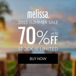 Mdreams.com: Melissa Summer Sale 2015