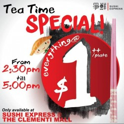 Sushi Express: Tea Time Special