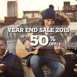 Timberland: Year End Sale 2015 up to 50% OFF