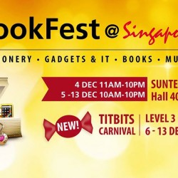 Suntec: BookFest@Singapore 2015