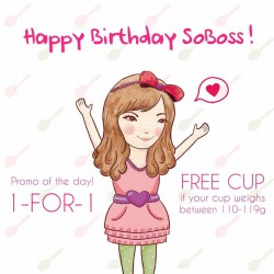 Sogurt: 1-for-1 Frozen Yogurt Promo on 11.11!