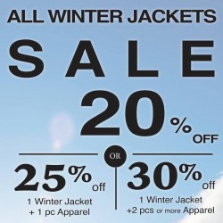Outdoor Life: Up to 30% OFF Winter Jackets