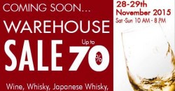 The Oaks Cellars: Warehouse Sale up to 70% OFF