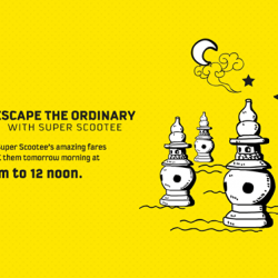 FlyScoot: Get 1-FOR-1 Sale--(7am - 12noon) @Travel Buddy
