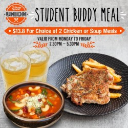 The Soup Spoon: Student Buddy Meal at White Sands