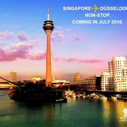 Singapore Airlines: Aircraft, Airbus A350, is Coming to the German City in July 2016