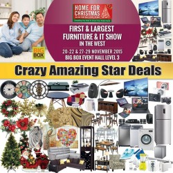 Big Box: Home For Christmas – One-Stop Furniture & IT Fair