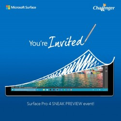 Challenger: Surface Pro 4 SNEAK PREVIEW Event