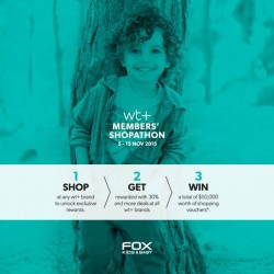 Fox Fashion: wt Member's Shopathon.