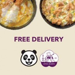 Ginza Bairin: Free Delivery On Every Order.