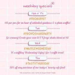 Sogurt: Weekly Specials Promotion