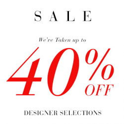 Saks Fifth Avenue: Up to 40% OFF Designer Selections