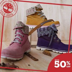 Timberland: Up to 50% Selected Footwear