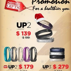EpiCentre: Christmas Promotions--Healthier Christmas @Jawbone.